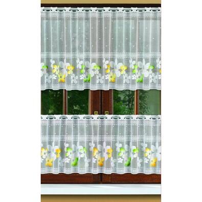 Záclona Tamara, 250 x 35 cm + 250 x 50 cm