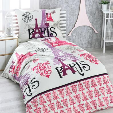 Bavlněné povlečení Paris, 140 x 200 cm, 70 x 90 cm