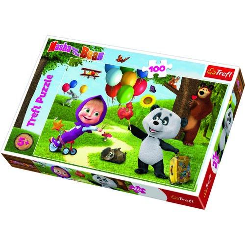 Trefl Puzzle, Mása és a medve, Az ünnepség, 100 részes