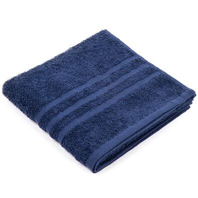 Ručník Classic tmavě modrá, 50 x 100 cm