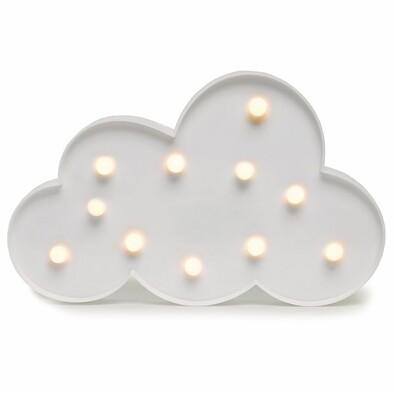 DecoKing Svíticí dekorace Mráček teplá bílá, 11 LED