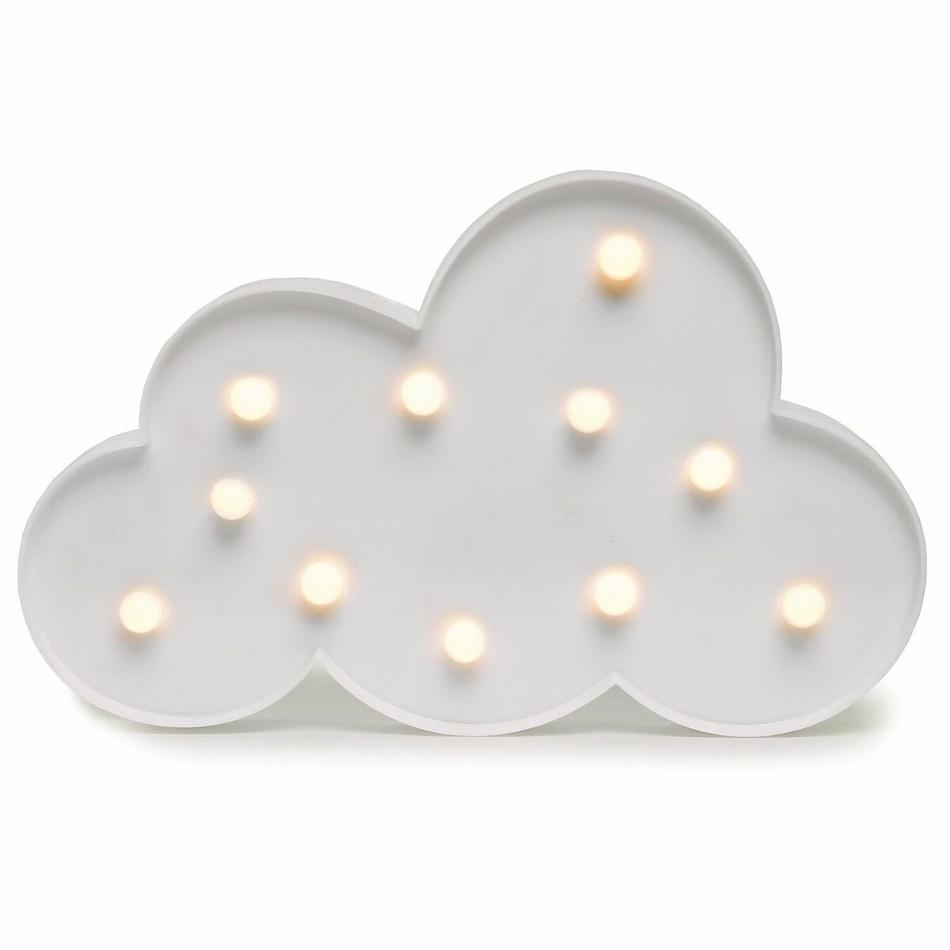 Fotografie DecoKing Svítící dekorace Mráček teplá bílá, 11 LED