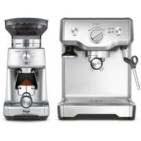 Sage BES810 sada espressa a mlýnku na kávu, nerez