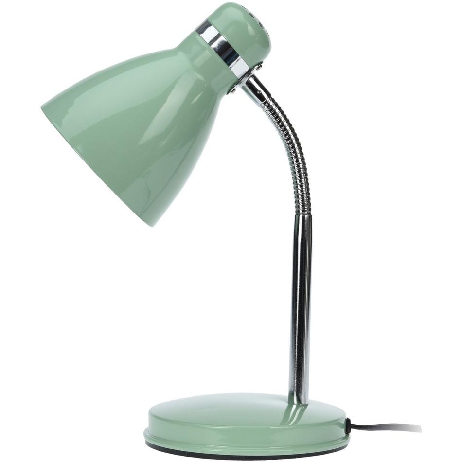 Fotografie Stolní lampa Cassino zelená, 34 cm