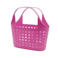 Plastikowa torba na zakupy Soft 11 l, różowy