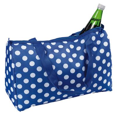 Chladiaca taška bodky 20 l, modrá
