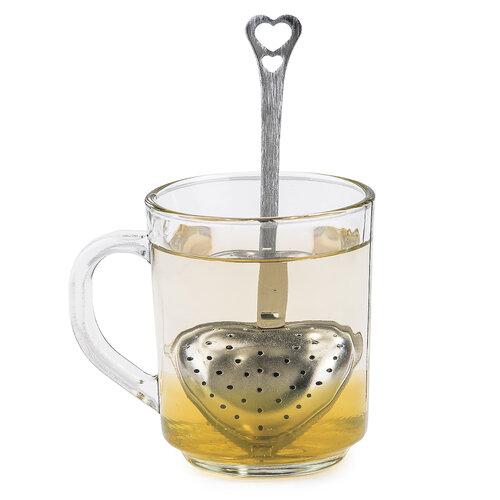 Sitko do herbaty serce