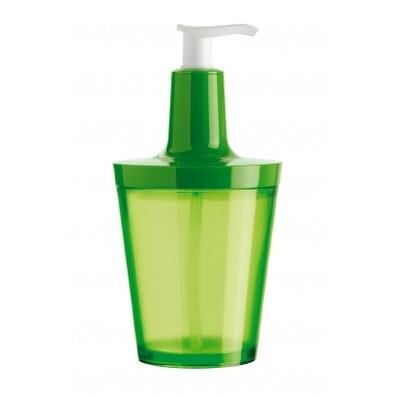 Dávkovač na mydlo Flow zelená, Koziol