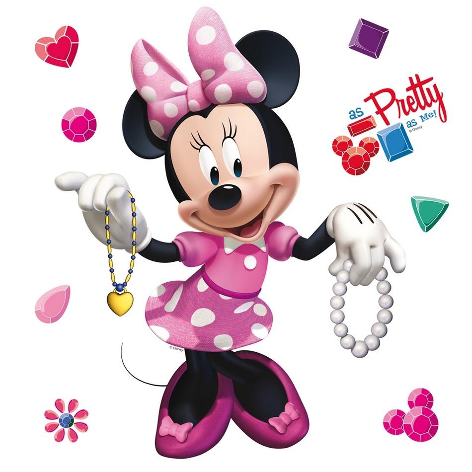 Samolepicí dekorace Minnie Mouse, 30 x 30 cm