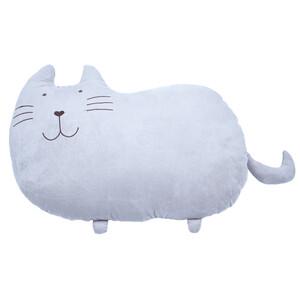 BO-MA Trading Plyšová kočka Fousek, 53 x 37 cm
