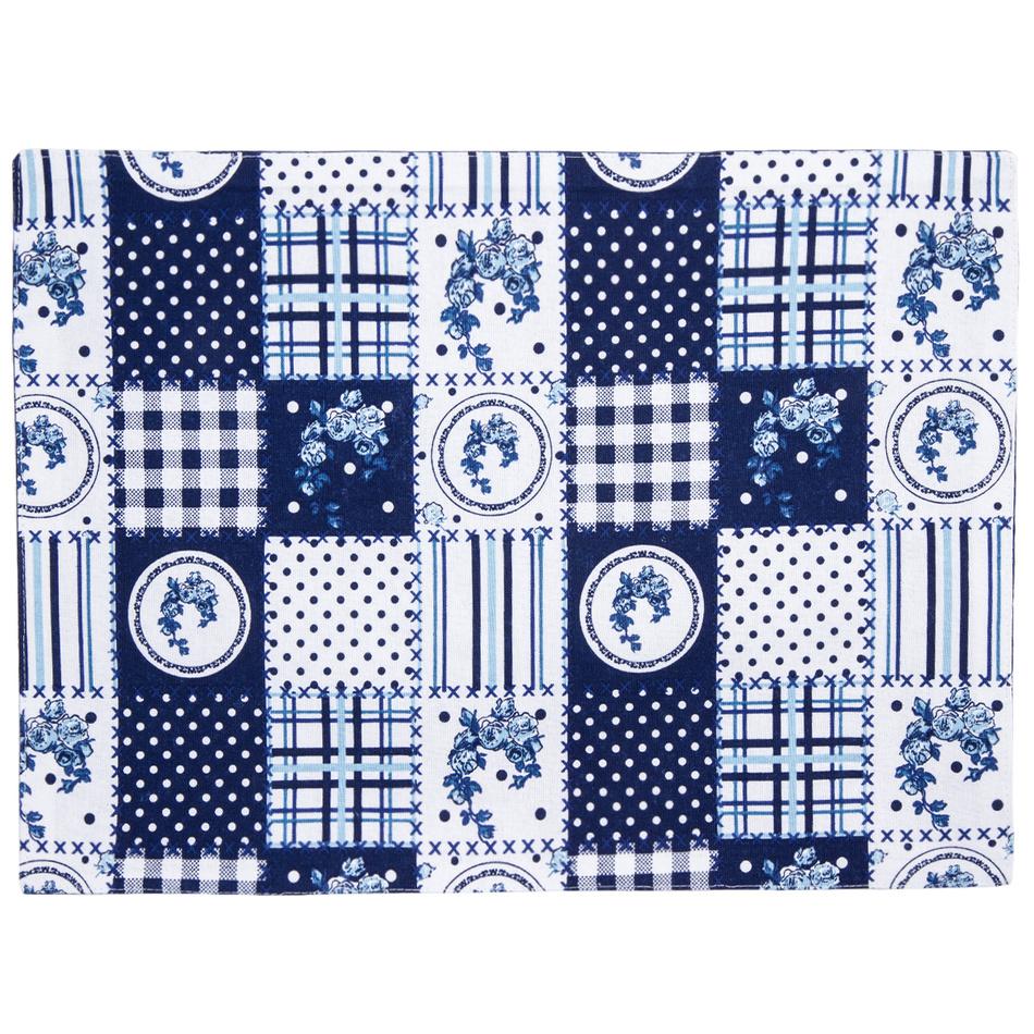 Trade Concept Prostírání Elegant patchwork modrá, 33 x 45 cm