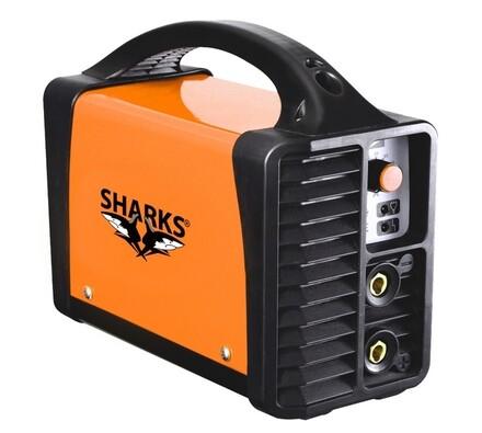 Svářecí invertor, SH 140A, Sharks, oranžová