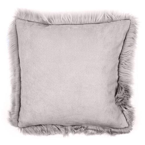 Povlak na polštářek Claire šedá, 45 x 45 cm