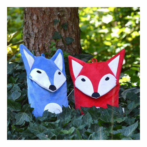 Hugo Frosch Detský termofor Eco Junior Comfort s motívom líšky, červená