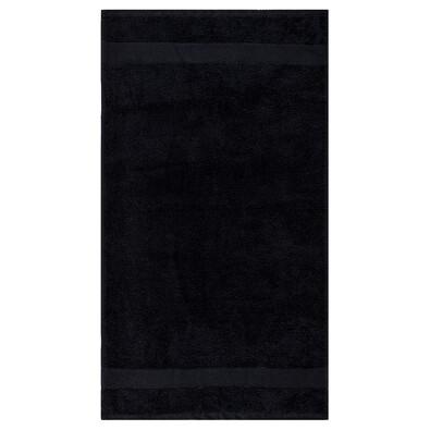 Ručník Olivia černá, 50 x 90 cm
