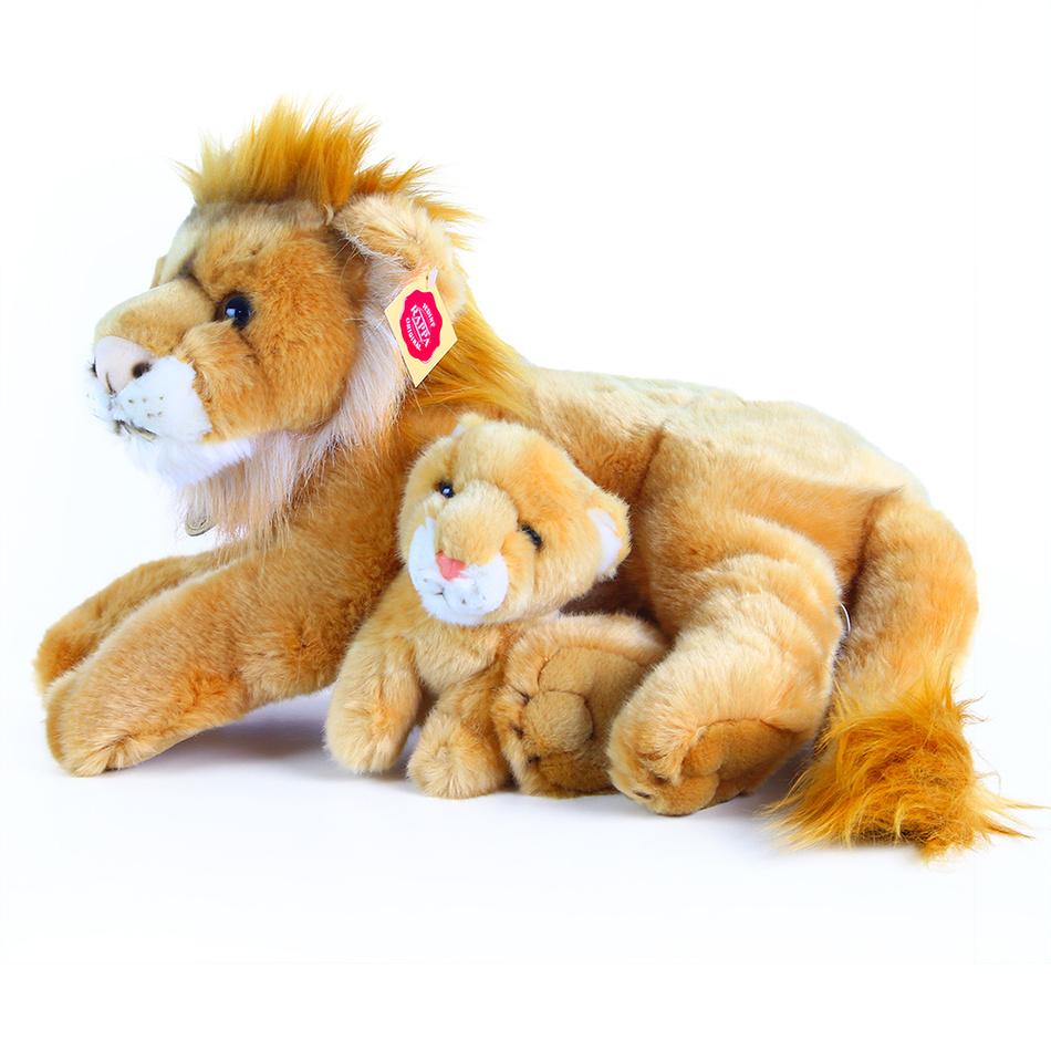 Rappa Plyšový lev s mláďaťom, 40 cm