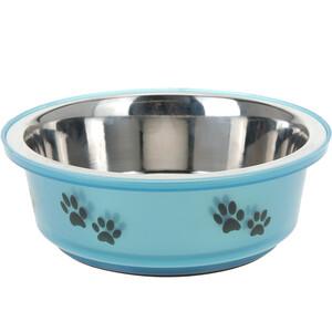 Miska pro psa modrá, 400 ml