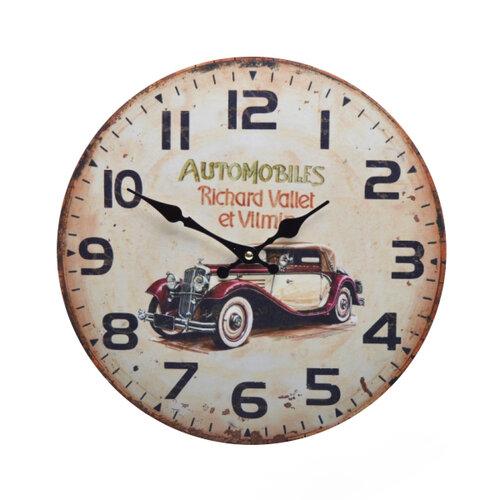 Nástenné hodiny Automobiles HLC16001,