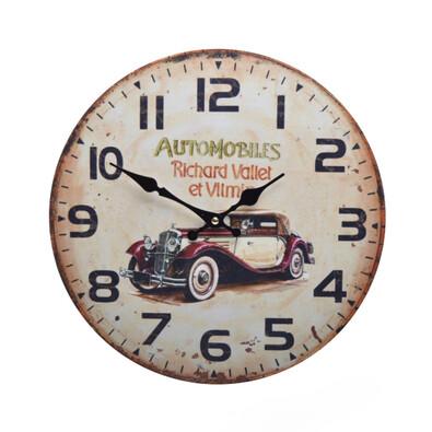 Nástěnné hodiny Automobiles HLC16001