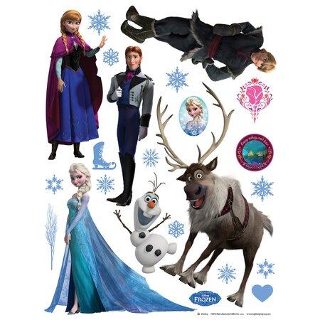 Samolepicí dekorace Ledové království, 30 x 30 cm