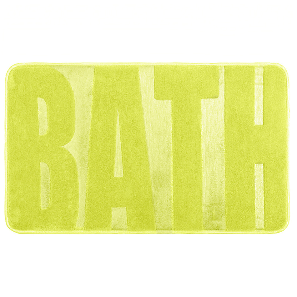 Koopman Koupelnová předložka Bath zelená, 45 x 75 cm