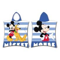 Detské pončo Mickey stripe, 50 x 115 cm