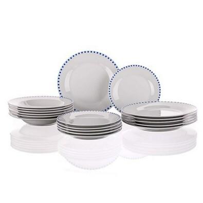 Banquet CUBITO BLUE 18dílná jídelní sada