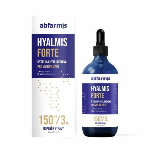 Abfarmis Hyalmis Forte - kyselina hyalurónová, 96 ml