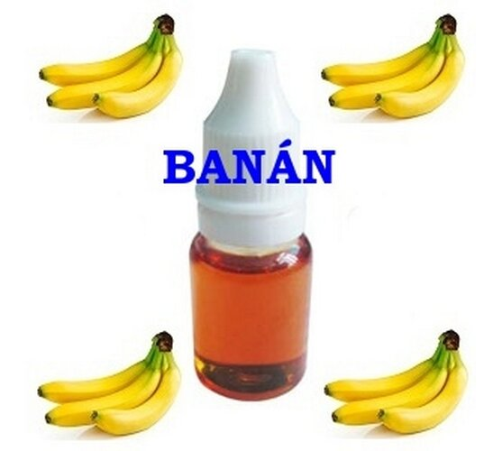 E-liquid Banán