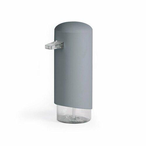 Dávkovač Compactor Clever mydlovej peny, ABS odolný PETG plast – šedý, 360 ml, RAN9648