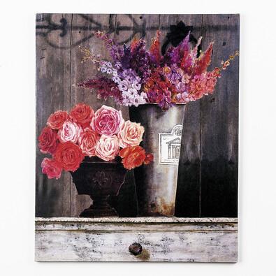 Jednodílný obraz Květy ve váze
