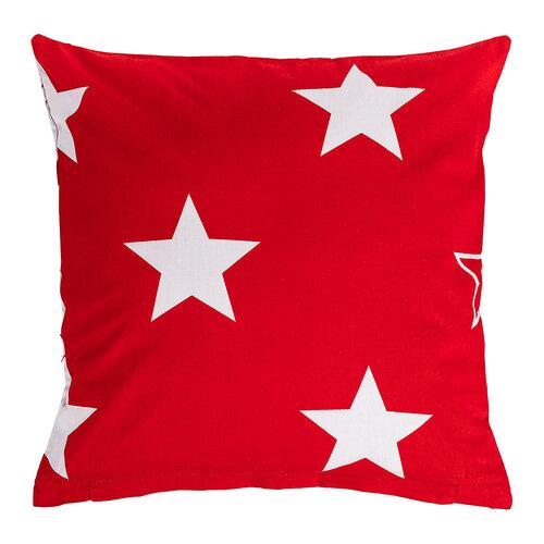 Față de pernă 4Home Stars red, 40 x 40 cm, sada 2 buc.