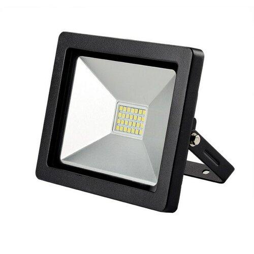 Solight LED venkovní reflektor SLIM, 20W, 1400lm, 3000K, černá SOLIGHT WM-20W-G