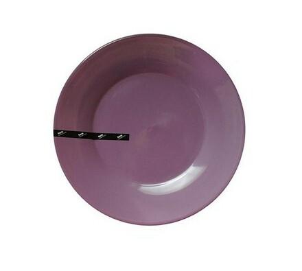 Luminarc Toro 6dílná sada mělkých talířů fialová