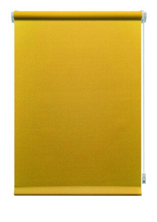Roleta mini Aria żółta, 61,5 x 150 cm