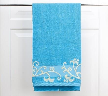 Osuška Venera, modrá, modrá, 70 x 140 cm