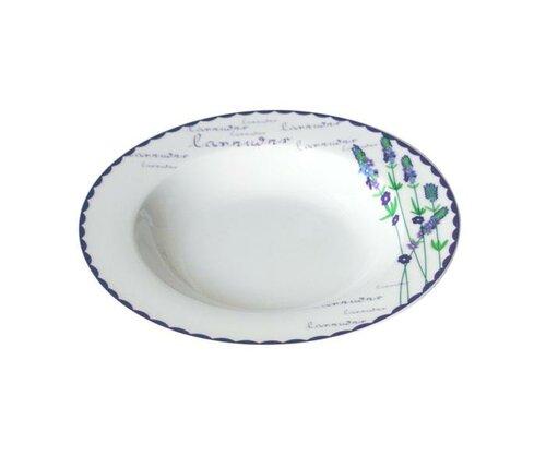 Toro Keramický hluboký talíř Levandule, 21,5 cm