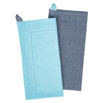 Heda törlőruha, kék, 50 x 70 cm, 2 db-os szett