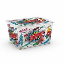 KIS Dekorační úložný box C Box Style Comics XL, 50 l