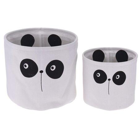 Sada dekoračných košíkov Hatu Panda, 2 ks