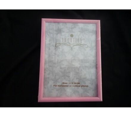 Fotorámeček 10x15 cm, růžová