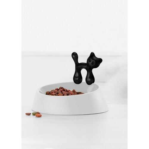 Castron pentru pisici Koziol Miaou, negru