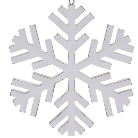 Decorațiune agățată de Crăciun Foligno, alb