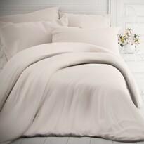 Kvalitex Lenjerie de pat din bumbac, albă, 140 x 200 cm, 70 x 90 cm