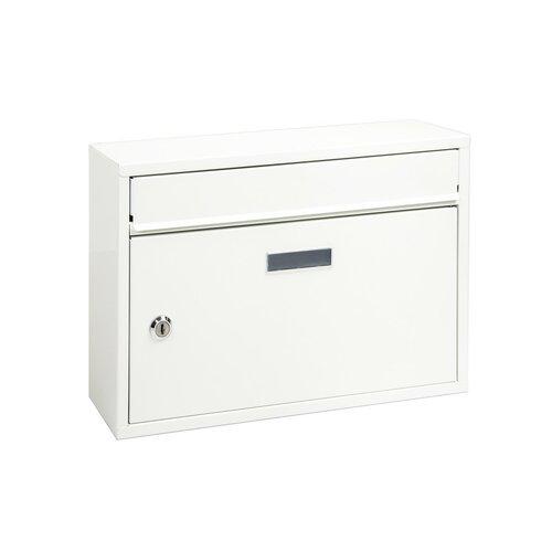 Acél postaláda Terni, fehér