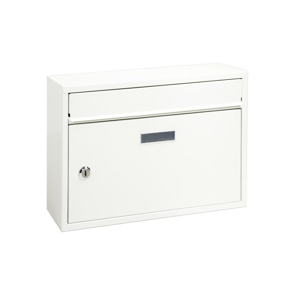 Richter Poštovní ocelová schránka Terni, bílá