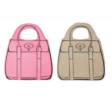 Kreslená nákupní taška
