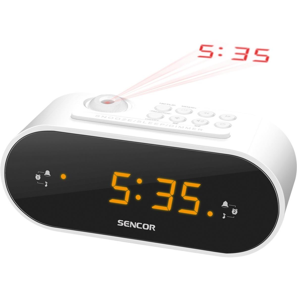 SENCOR SRC 3100 W rádiobudík s projekciou 35048703