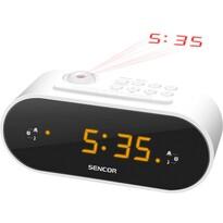 Sencor SRC 3100 W Radio cu ceas cu proiecție, alb