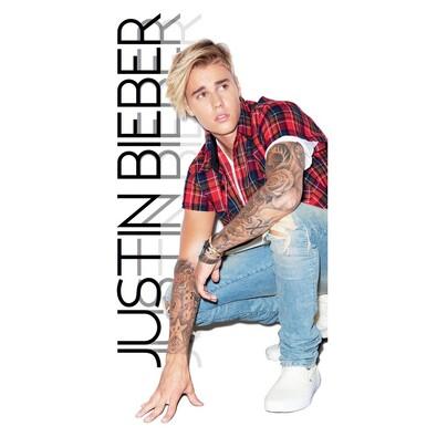 Osuška Justin Bieber, 70 x 140 cm